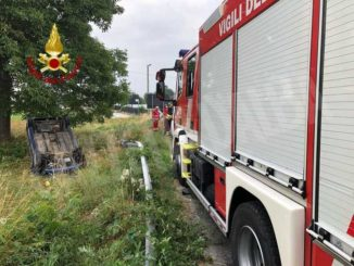 Due interventi in poche ore per i volontari dei Vigili del fuoco di Busca 1