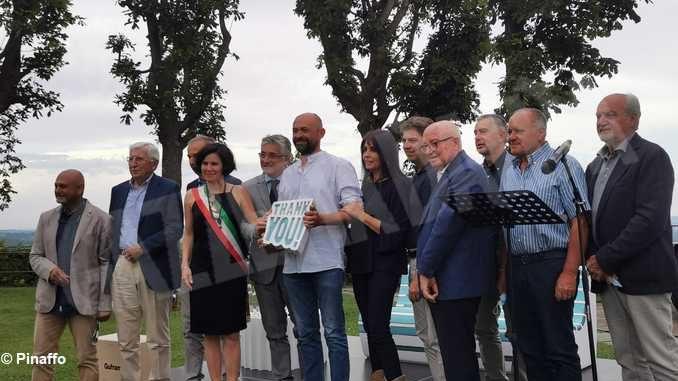 Gratitudine e cittadinanza onoraria a Valerio Berruti 1