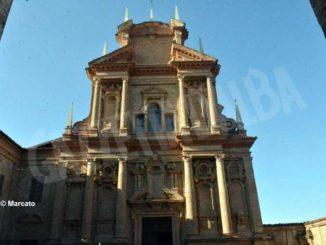 Tv2000 trasmette il rosario con il vescovo Brunettidal santuario Madonna del popolo di Cherasco 1