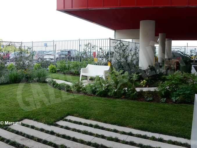 Un anno di vita per l'ospedale nuovo: debuttano i giardini terapeutici 4