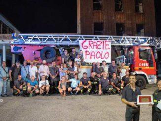 Paolo Tinelli lascia il comando dei Vigili del fuoco di Asti per la pensione
