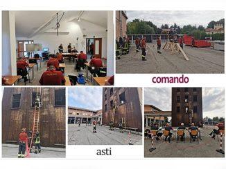 Promossi oggi 13 nuovi Vigili del fuoco volontari che opereranno nei distaccamenti Astigiani
