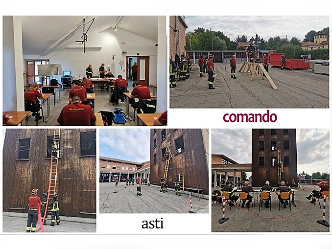 13 nuovi Vigili del fuoco volontari Comando di Asti