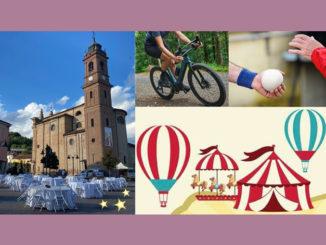 Oggi a Monticello d'Alba sport, circo & cena sotto le stelle