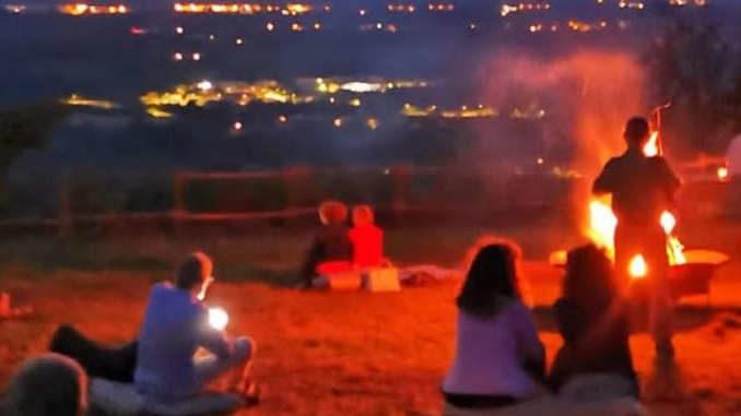 Serata musicale sui calanchi di Clavesana per osservare le Perseidi