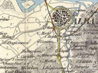 La cartografia storica è visionabile sul sito Internet Arcanum