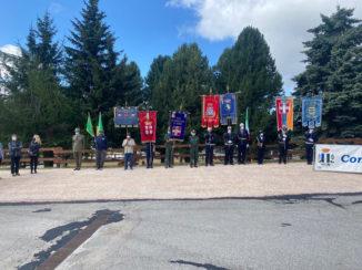 Alba presente alla cerimonia per il 77° anniversario della Battaglia del Sestriere e del 75° anniversario della Repubblica, al Colle del Sestriere