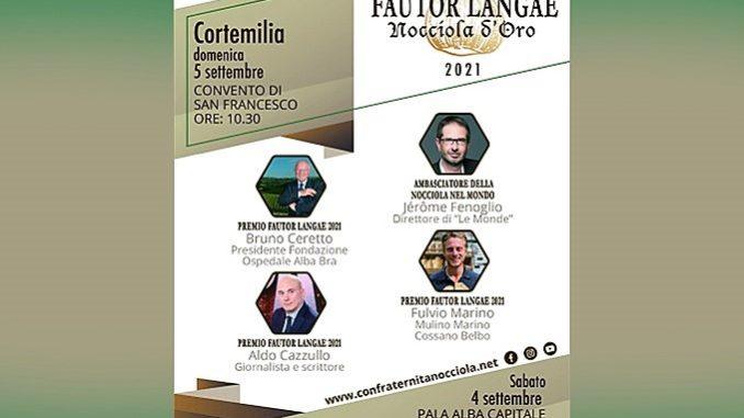 Il XIV Fautor Langae a Cortemilia e ad Alba 5