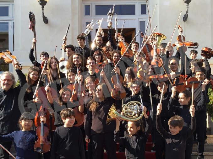 Giovane orchestra Piccole note