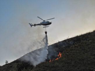 Incendi boschivi nel sud Italia: partiti nella notte 14 volontari con 7 mezzi del corpo Aib Piemonte verso la Calabria 2
