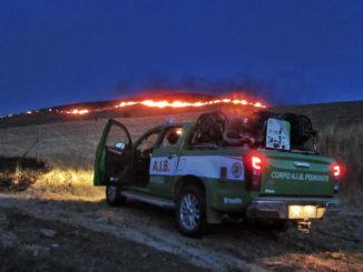 Incendi boschivi nel sud Italia: partiti nella notte 14 volontari con 7 mezzi del corpo Aib Piemonte verso la Calabria