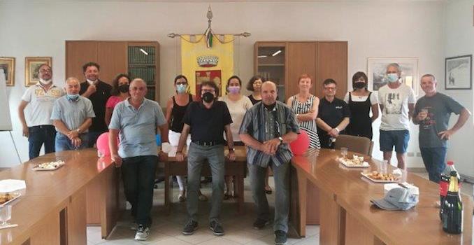 Il saluto ai cantonieri di Castiglione Tinella
