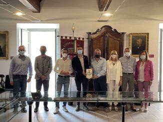 Ad Alba, visita dell'assessore regionale all'Agricoltura della Valle d'Aosta 1