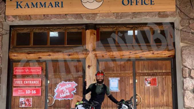 Roberto Menicucci supera Rovaniemi e vede Capo Nord più vicino