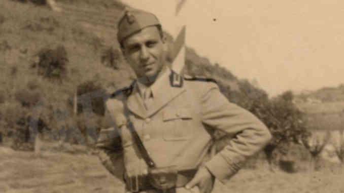 L'identità ignota di un ufficiale del Regio esercito