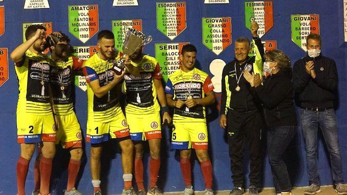 La Morando Neivesi vince la Coppa Italia di Serie B