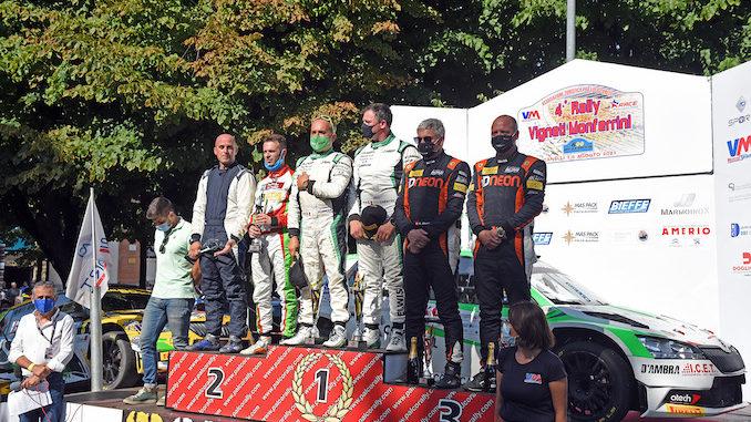 Chentre e Florean su Skoda vincono il Rally vigneti monferrini di Canelli
