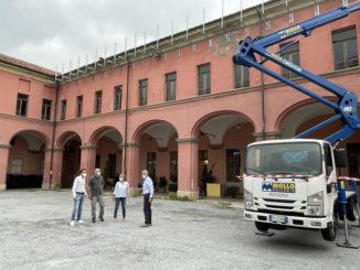 Alba: al via i lavori di rifacimento del tetto lungo la manica del Complesso della Maddalena che ospiterà il Museo del Tartufo cittadino