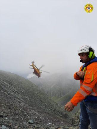 Operazioni di recupero congiunte per 12 scout dispersi sul Monte Granero nel comune di Bobbio Pellice 1