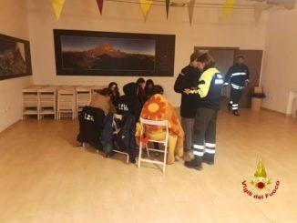 Operazioni di recupero congiunte per 12 scout dispersi sul Monte Granero nel comune di Bobbio Pellice