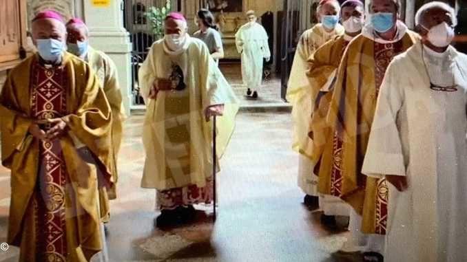 Celebrata a Bologna Messa per ricordare i 75 anni di ordinazione di monsignor Bettazzi