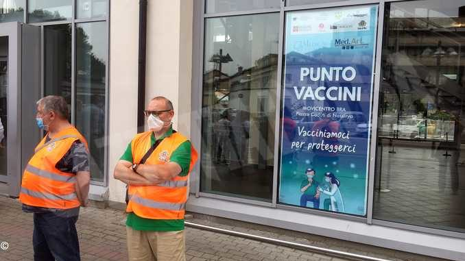 Mercoledì 11 agosto Bra vaccina i più giovani al Movicentro