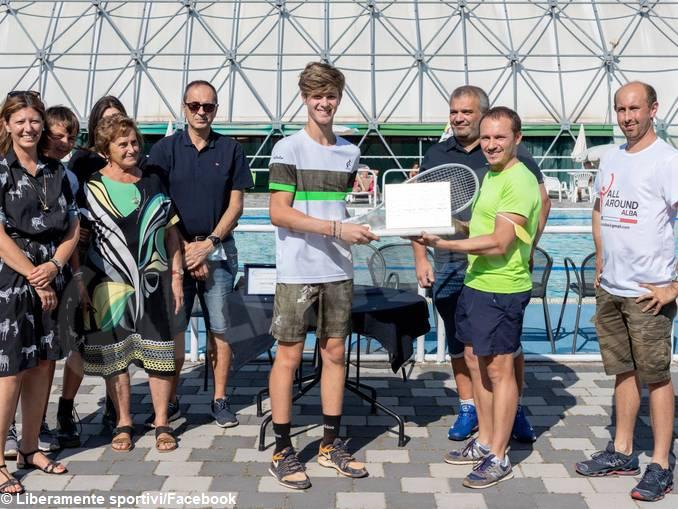 Tennis: Edoardo Cravanzola si aggiudica il memorial Gilardi