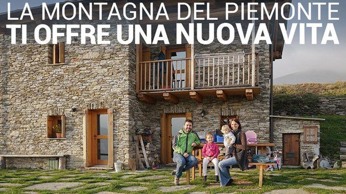 Via dalla città: la Regione Piemonte lancia una campagna nazionale con incentivi per chi sceglie di andare a vivere tra le sue montagne