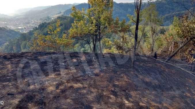 Riprese le attività di bonifica sul luogo dell'incendio di Pocapaglia 1