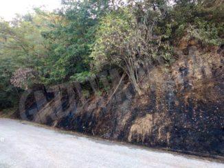 Riprese le attività di bonifica sul luogo dell'incendio di Pocapaglia 2
