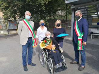 Margherita Ghibaudo compie 100 anni, a festeggiarla i sindaci di Valdieri e Roaschia 1