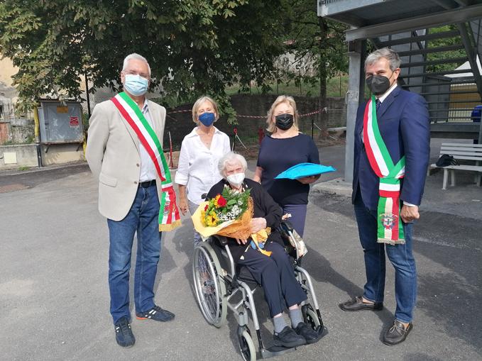 sindaci Valdieri e Roaschia con Margherita