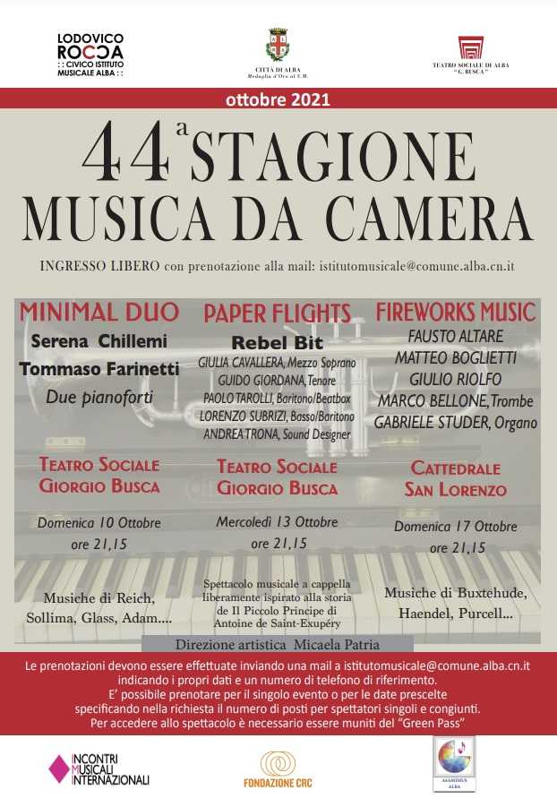 44ª Stagione di Musica da Camera
