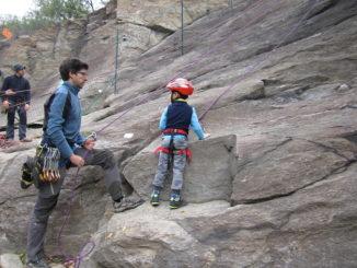 Climbing day per l'alpinismo giovanile Cai Asti