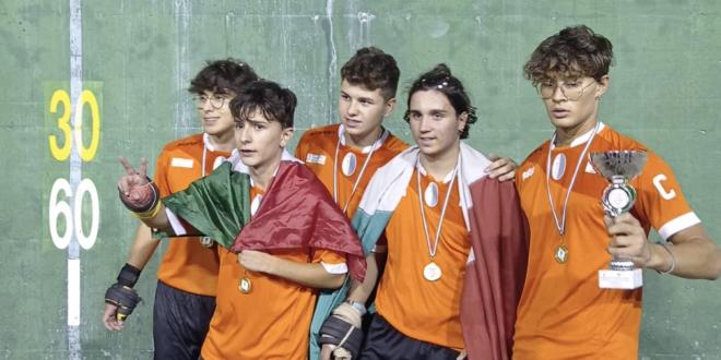 Pallapugno: assegnati gli scudetti dei campionati giovanili