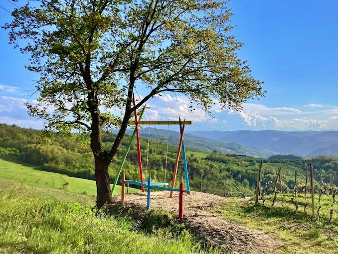 Big Chair a Cossano Belbo