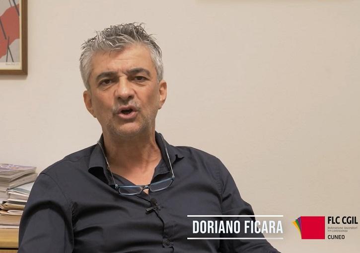Doriano Ficara Segr. gen. FLC CGIL Cuneo