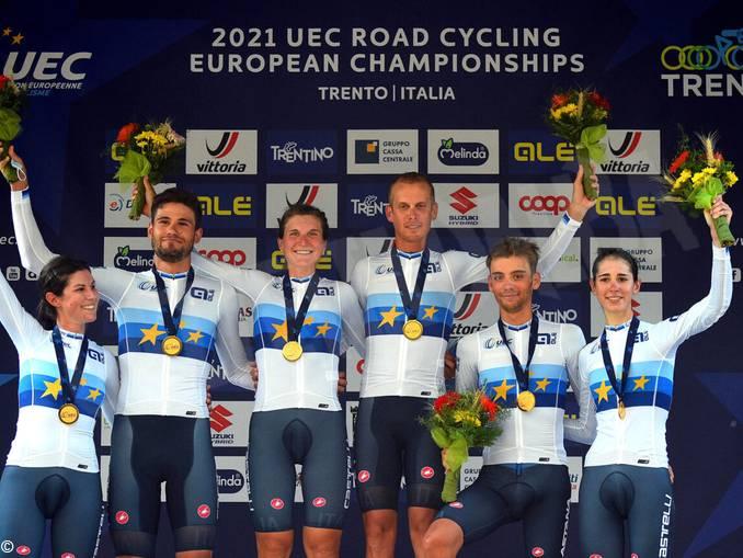 Europei ciclismo