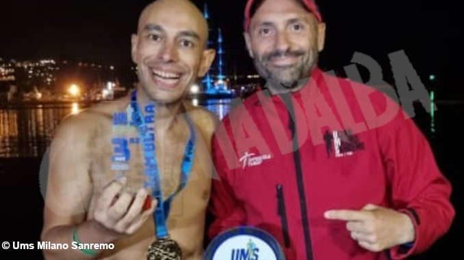 Fabio Gonella è terzo all'ultramaratona Ums Milano Sanremo