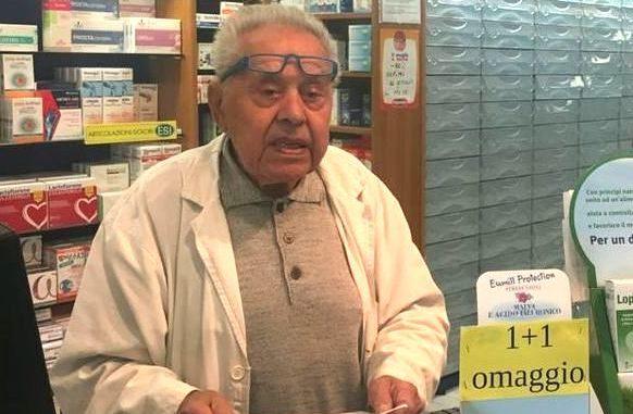 È morto il farmacista Francesco Clerici 1