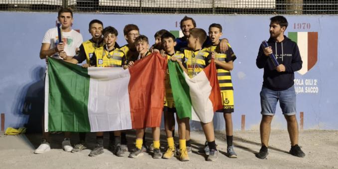 Pallapugno: assegnati gli scudetti dei campionati giovanili 1