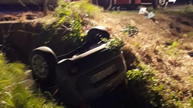 Costigliole d'Asti: incidente in località Valcioccaro, un ferito