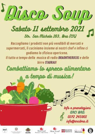 Sabato 11 settembre, Arci Bra e Slow food contro lo spreco alimentare