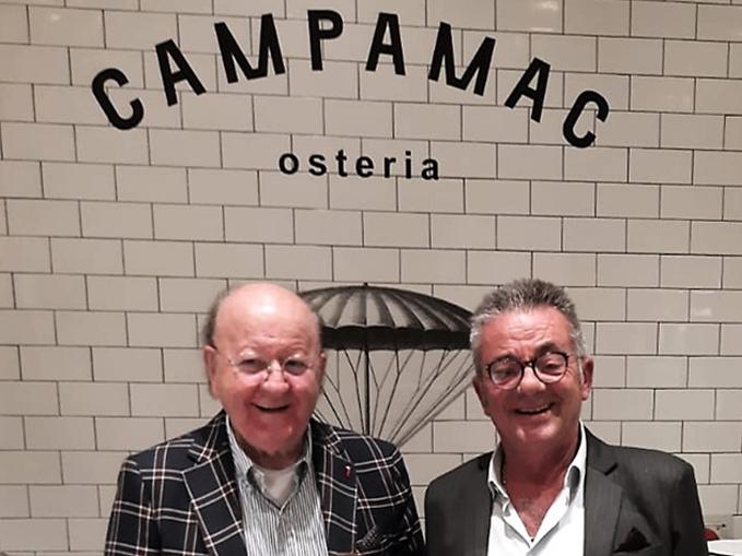Massimo Boldi e Mario Zoppi