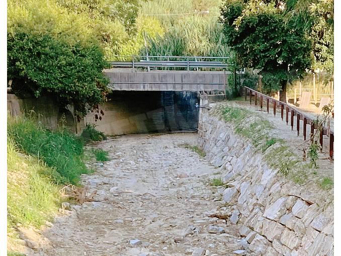 Monticello torrente Mellea
