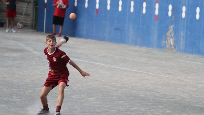 Volata finale per i campionati giovanili di pallapugno