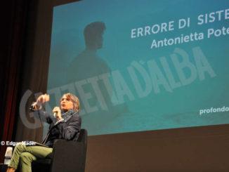 La teologa Antonietta Potente ospite ieri sera al festival Profondo umano 1