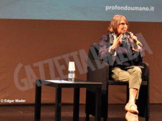 La teologa Antonietta Potente ospite ieri sera al festival Profondo umano 5