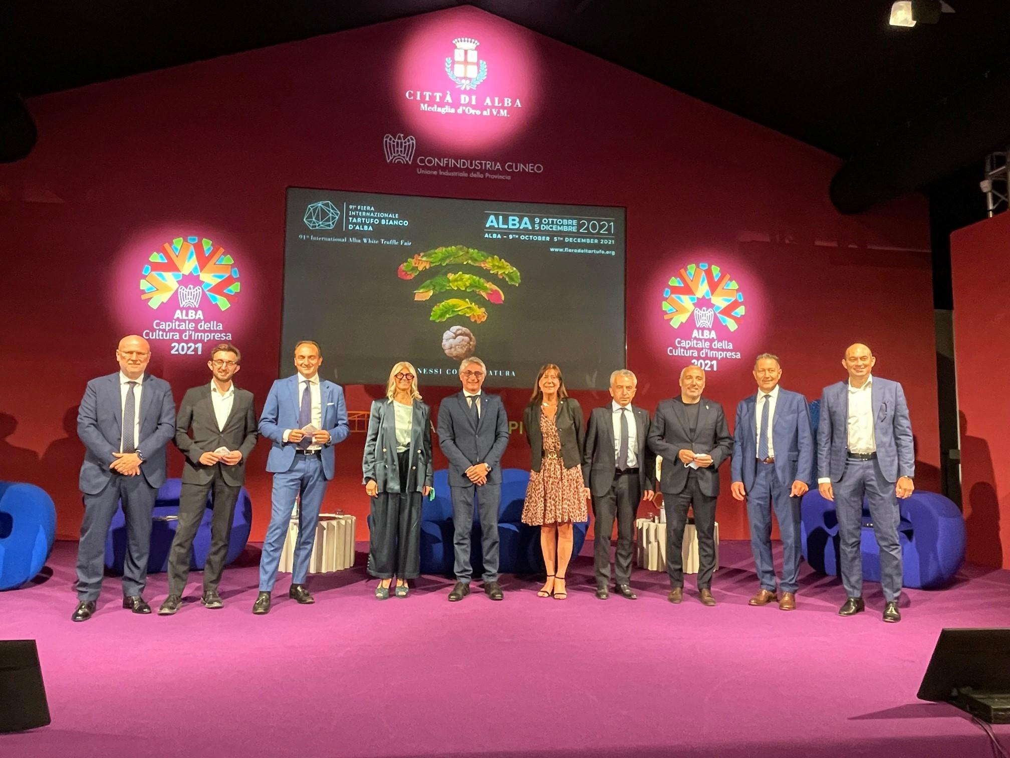 Presentazione Fiera Tartufo Bianco Alba 2021 – Gruppo finale