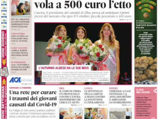 La copertina di Gazzetta d'Alba in edicola martedì 28 settembre